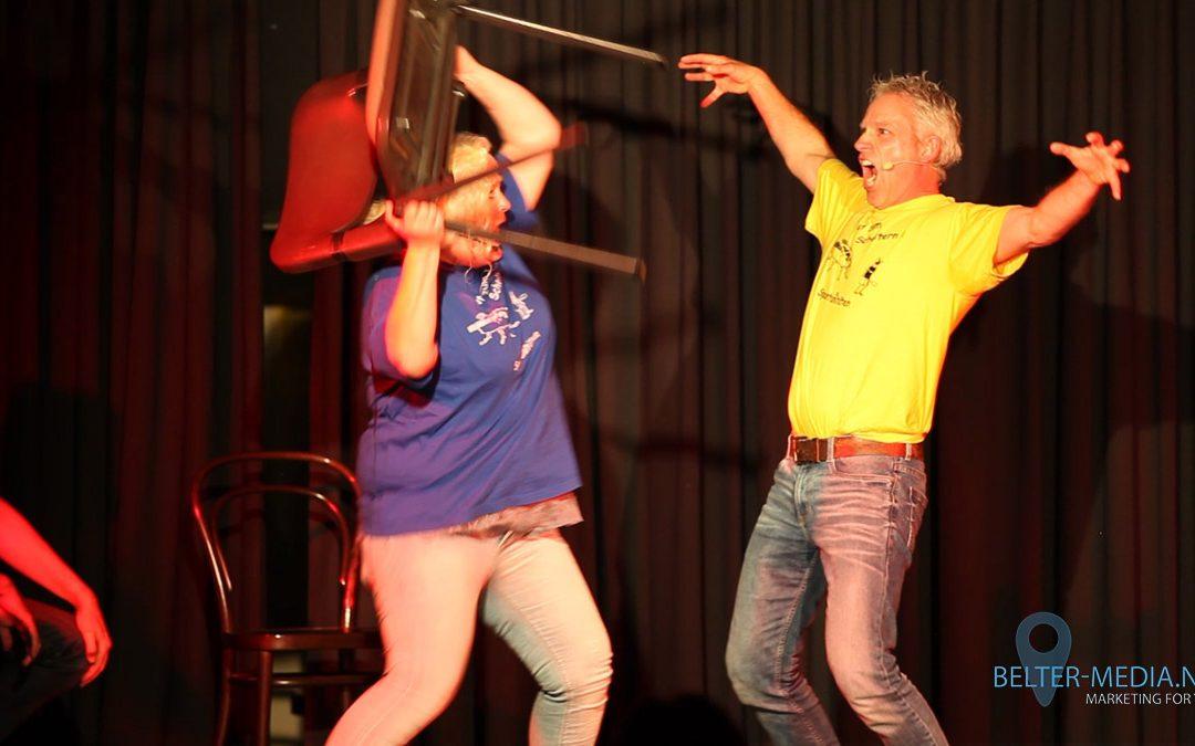 Improvisationstheater Spontaneitäten überzeugt im Dachstudio Dinslaken