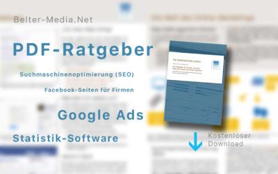 Ihr Unternehmen online – Firmen-Website, Suchmaschinenoptimierung, Facebook, Google+, Ads schalten